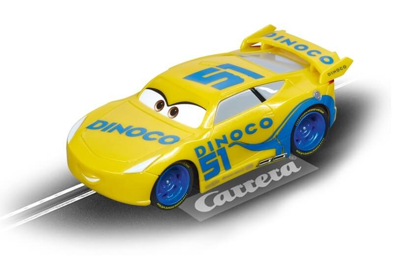 Go Disney Pixar Cars 3 Cruz Ramirez Slot Car