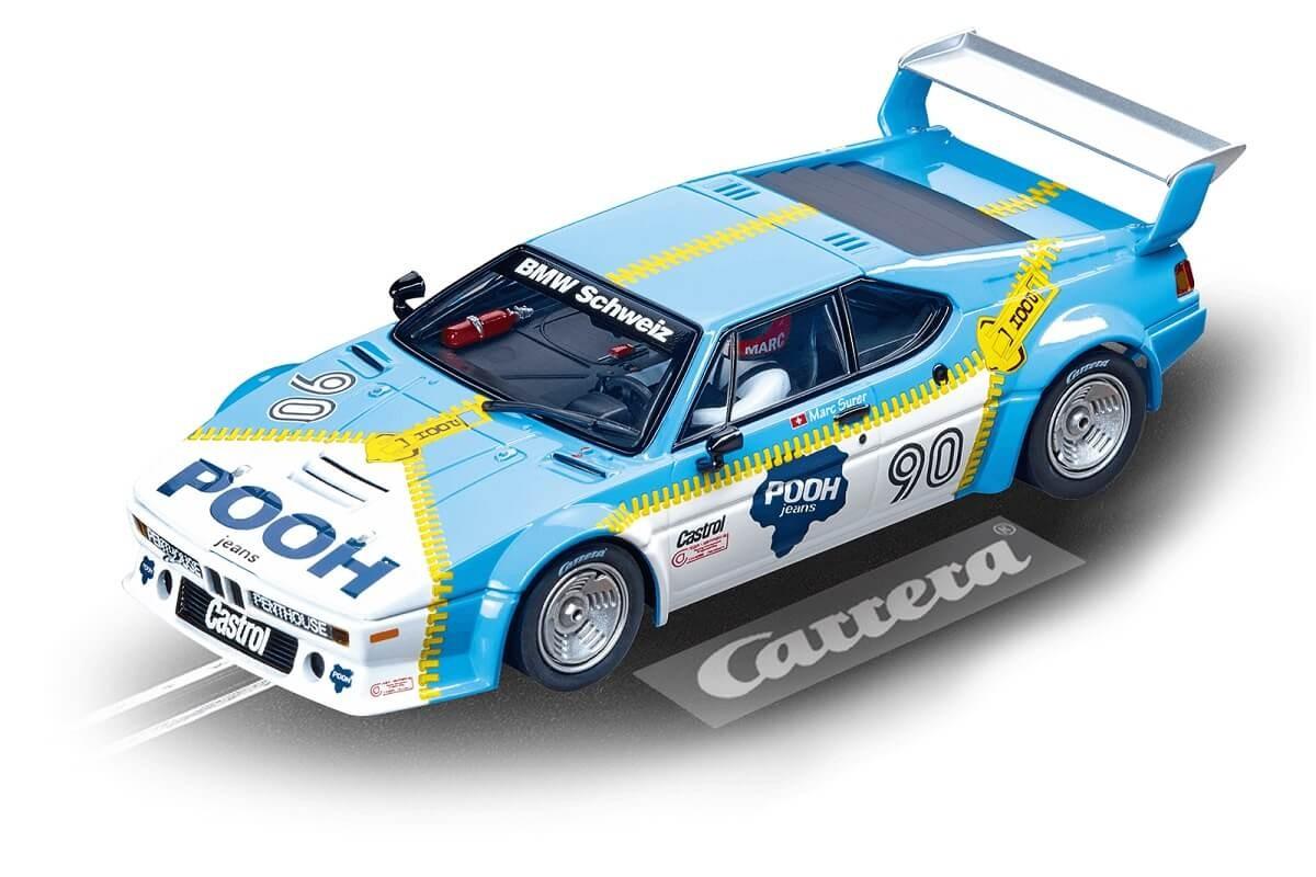 Carrera Digital 132 BMW M1 Procar Sauber Racing No.90 Norisring 1980 w/Lights Slot Car