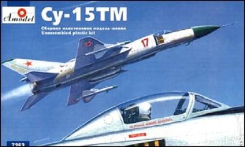 1/72 SU15TM Flagon M Russian Interceptor (D) Plastic Model Kit