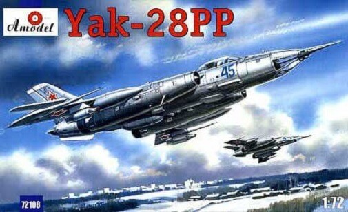 1/72 Yak-28PP Plastic Model Kit