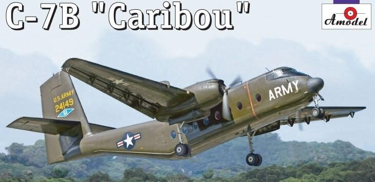 1/144 C-7B Caribou Plastic Model Kit