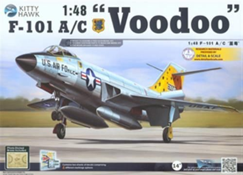 1:48 F-101 A/C Voodoo Plastic Model Kit