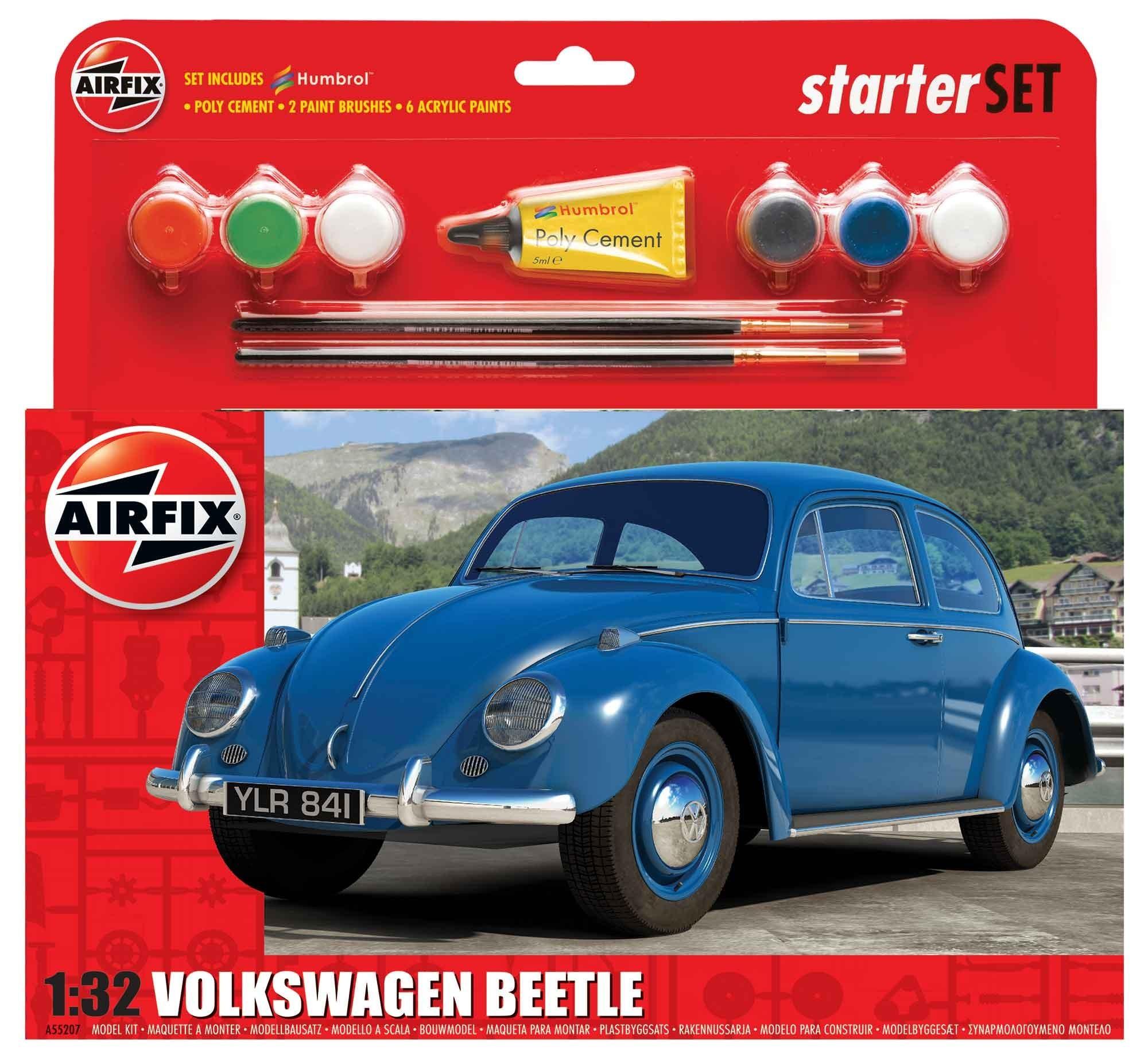 1/32 Volkswagen Beetle Starter Set Plastic Model Kit