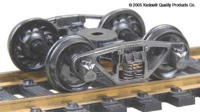 HO #556 Vulcan Double Truss Trucks