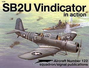 SB2U Vindicator in Action