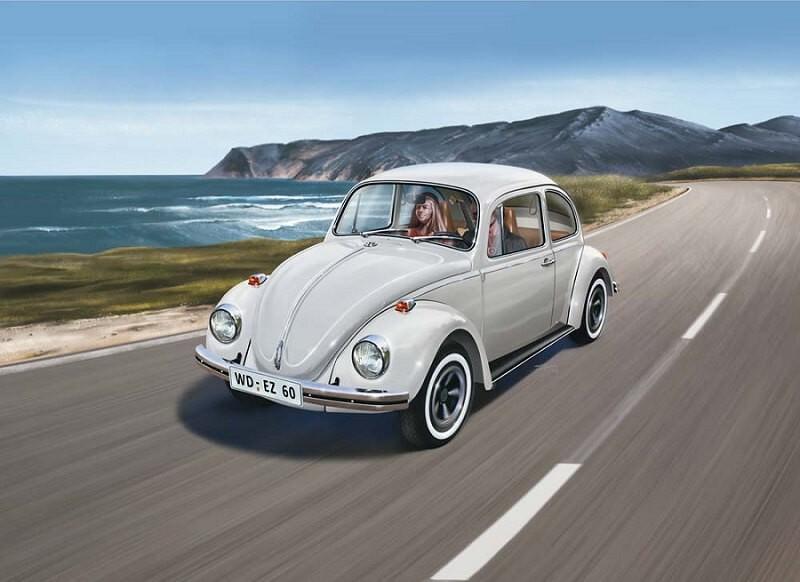 1/32 VW Beetle Plastic Model Kit