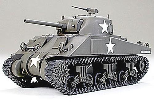 1:48 M4 Sherman Tank-Early Plastic Model Kit
