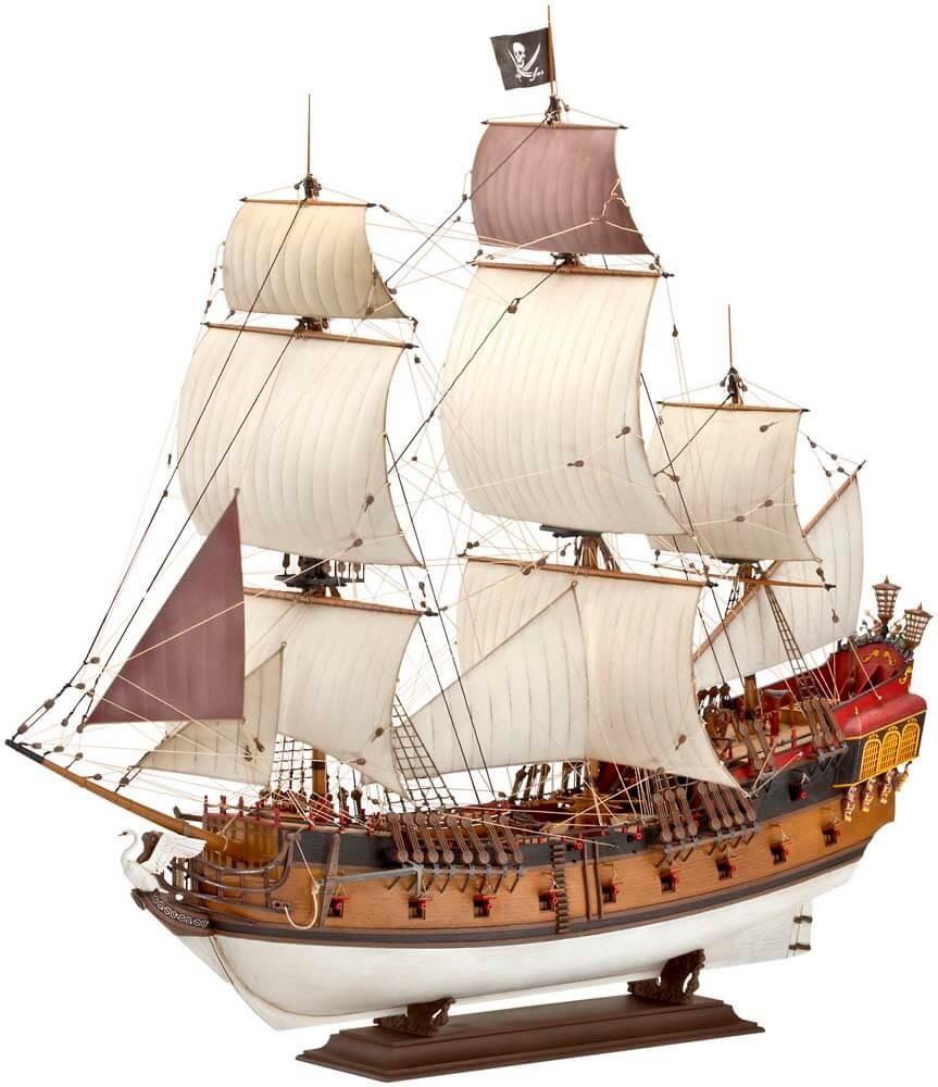 Revell Germany 1/72 Pirate Ship Plastic Model Kit