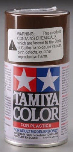 TS-1 Red Brown 3 oz Spray Lacquer Paint