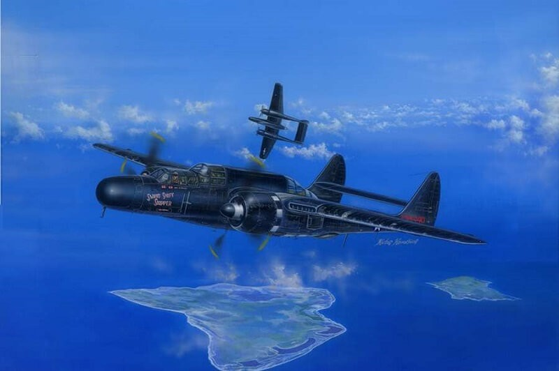 1/48 P-61 Black Widow Plastic Model Kit