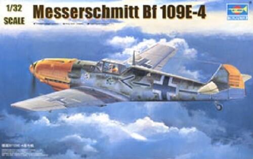 Trumpeter 1:32 Messerschmitt Bf 109E-4 Plastic Model Kit