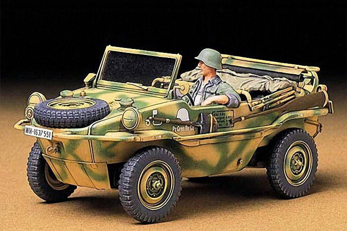 Tamiya 1:35 Schwimmwagen Type 166 Plastic Model Kit