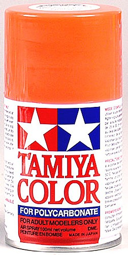 Tamiya PS-20 Fluorescent Poly-carbonate Red Spray Paint