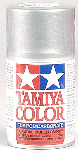 Tamiya PS-36 Translucent Silver Poly-carbonate Spray Paint