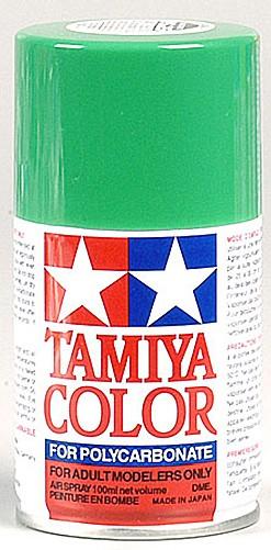 Tamiya PS-25 Bright Green Polycarbonate Spray Paint