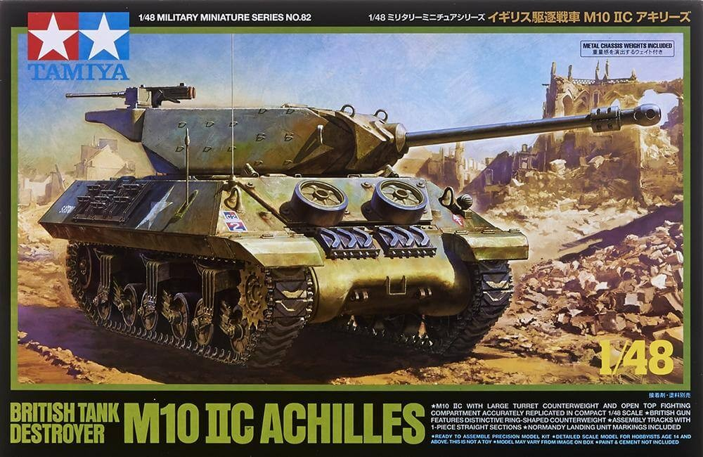 1:48 British Tank Destroyer M10 IIC Achilles Model Kit
