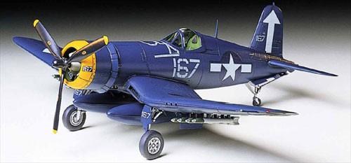 Tamiya 1:72 WB Corsair F4U1D Plastic Model Kit