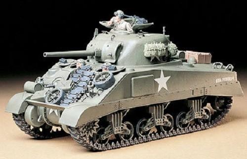 1:35 M4 Sherman Tank Early Plastic Model Kit