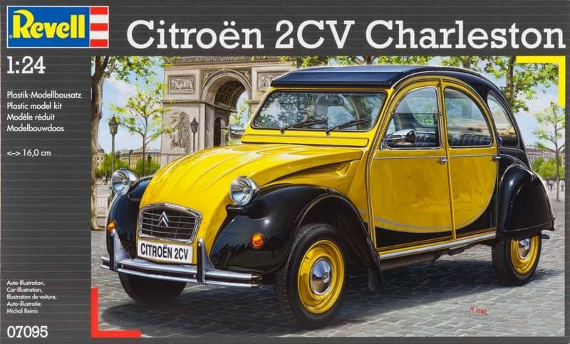 Revell Germany 1:24 Citroen 2CV Plastic Model Kit