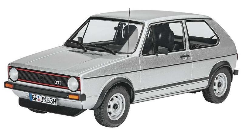 Revell Germany 1/24 VW Golf 1 GTI Plastic Model Kit