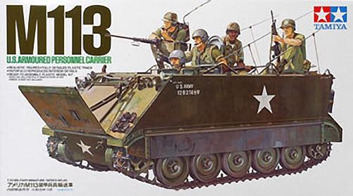 1:35 US M113 Tank Plastic Model Kit