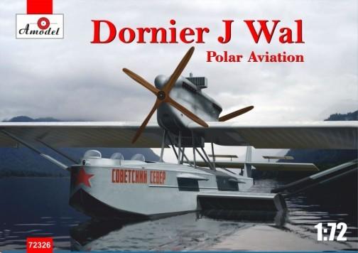 Amodel 1/72 Dornier J Wal Polar Aviation German Flying Boat Plastic Model Kit