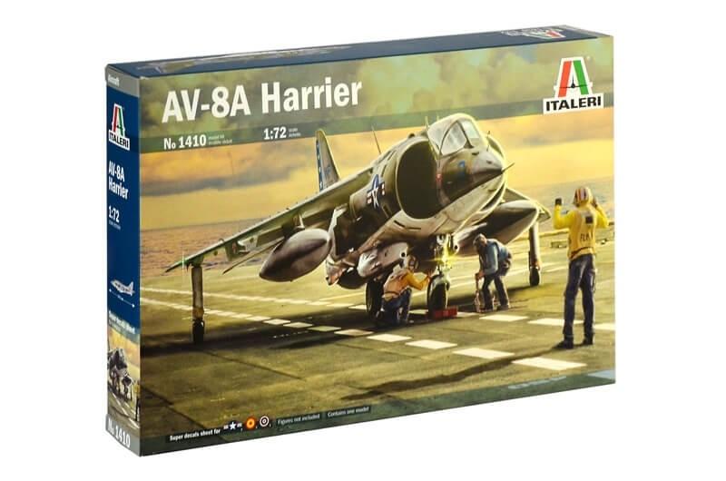 Italeri 1/72 AV-8A Harrier Plastic Model Kit