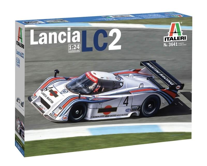 Italeri 1:24 Lancia LC 2 Plastic Model Kit