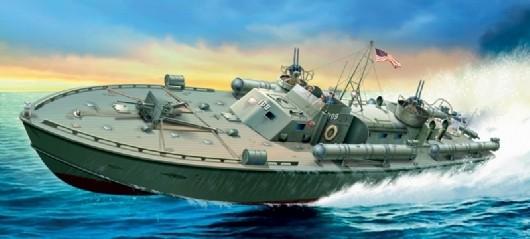 Italeri 1/35 PT-109 Motor Torpedo Boat Plastic Model Kit