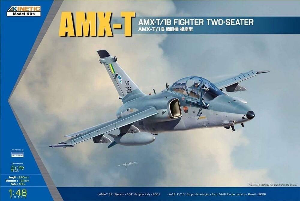 Kinetic Models 1:48 AMX T Fighter Plastic Model Kit