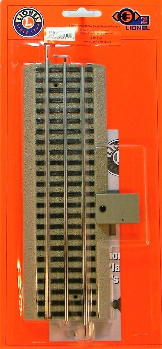 Lionel O Scale FasTrack Lock-on/Plug-Expand-Play Power Lock-on
