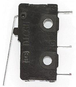 SPST 3amp 120v Flat Leaf Actuator Micro Switch