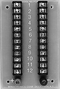 12-Position Prewired Power Distribution Block