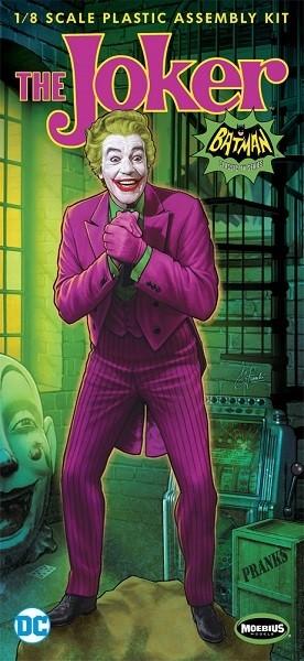 Moebius 1/8 Scale The Joker 1966 Plastic Model Kit