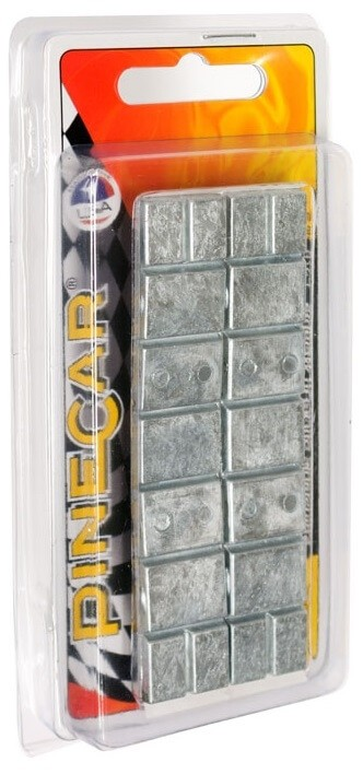 Pinecar Pinewood Derby Adjustable Stick-On Weights 2 oz
