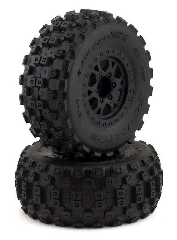 Pro-Line Badlands MX SC M2 Mounted Tires Slash 2wd/Slash 4x4