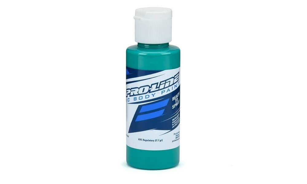 Pro-Line RC Body Paint Fluorescent Aqua 2oz