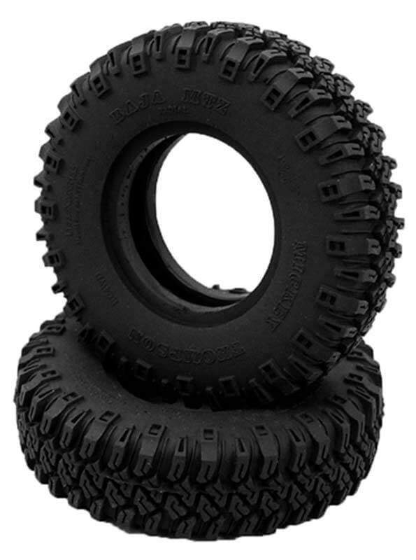 "RC4WD Mickey Thompson 1.55"" Baja MTZ P3 Scale Tires (2)"