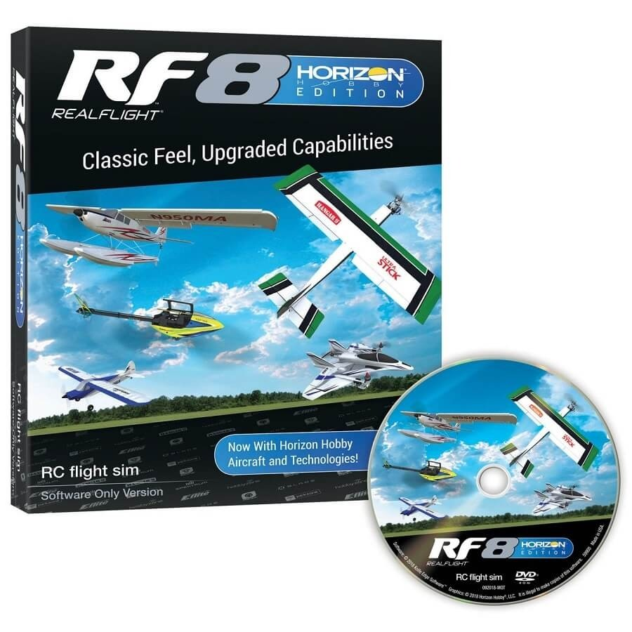 RealFlight 8 Horizon Hobby Edition Software Only
