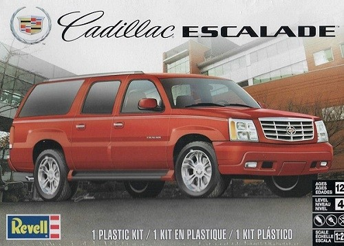 Revell 1/25 Cadillac Escalade Plastic Model Kit