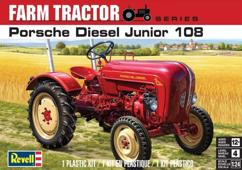 Revell 1/24 Porsche Diesel Jr 108 Tractor Plastic Model Kit