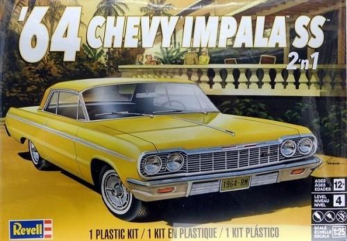 Revell 1/25 1964 Chevy Impala SS 2 n 1 Plastic Model Kit