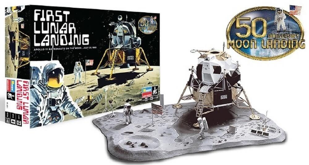 Revell 1:48 First Lunar Landing Module Plastic Model Kit