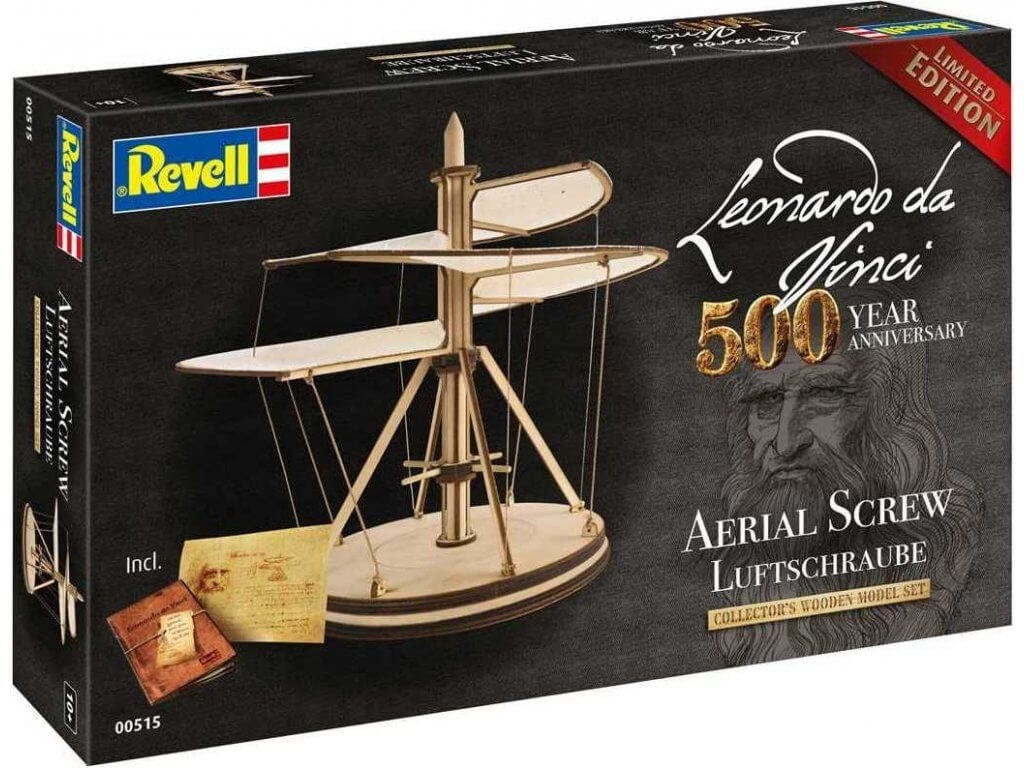 Revell Germany 1:48 Ariel Screw 500 Year Anniversary Wooden Model Kit