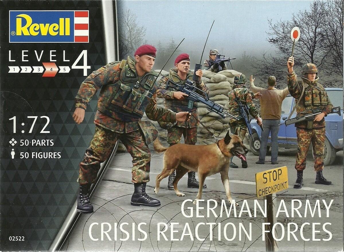 Revell Germany 1/72 German Task Force SFOR/KF Plastic Model Kit
