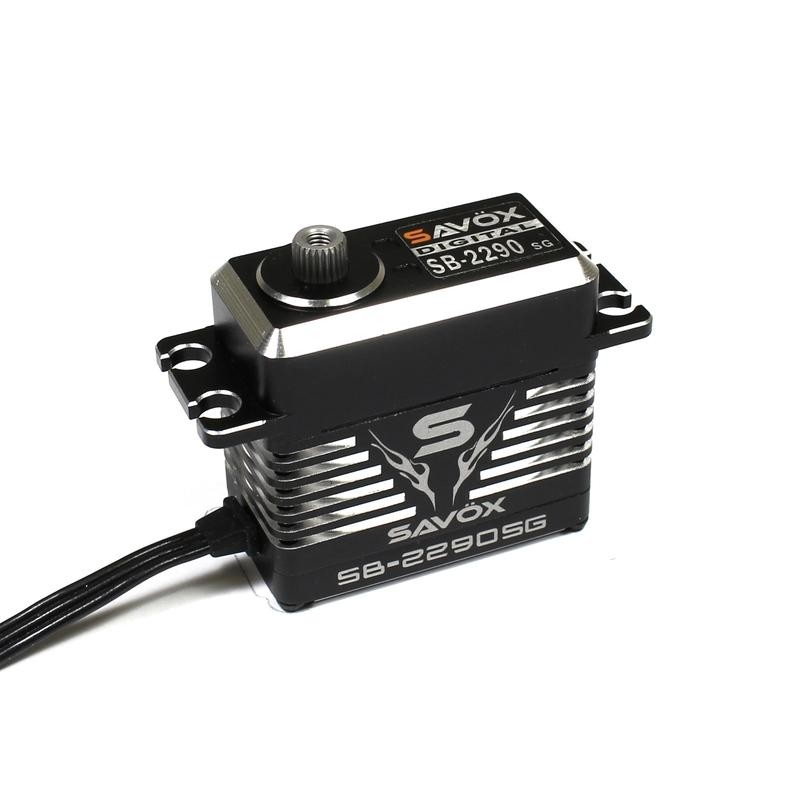 Monster Torque Brushless Servo, Black Edition .13sec / 694.4oz @ 7.4v