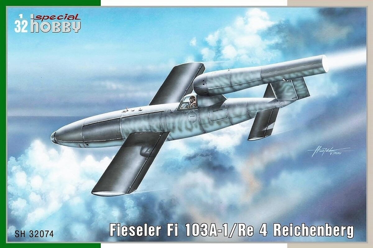 Special Hobby 1:32 Fi103A1/Re4 Reichenberg Plastic Model Kit