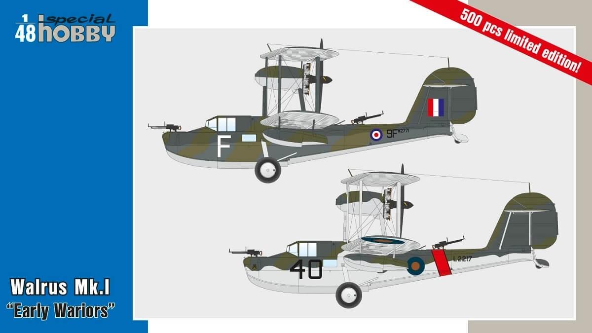 Special Hobby 1:48 Walrus Mk.I 'Early Wariors' Plastic Model Kit