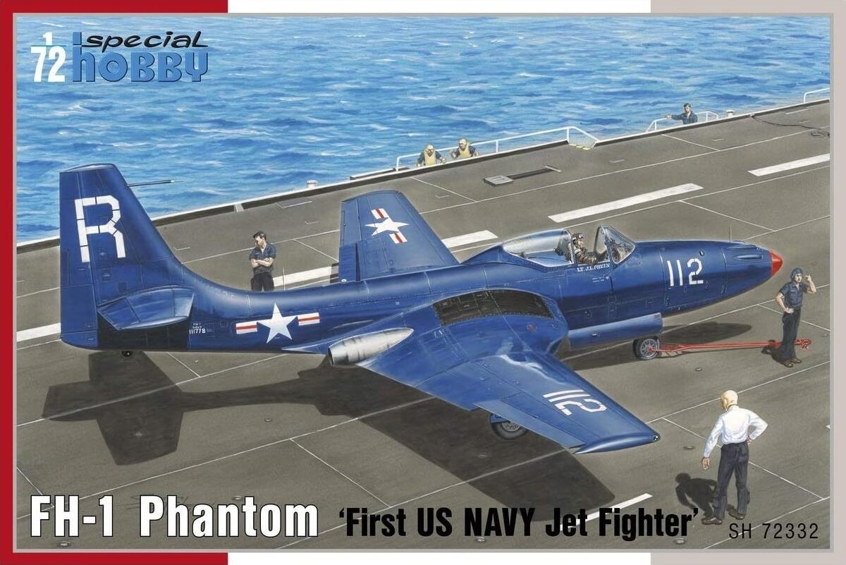 Special Hobby 1:72 FH1 Phantom First US Navy Plastic Model Kit