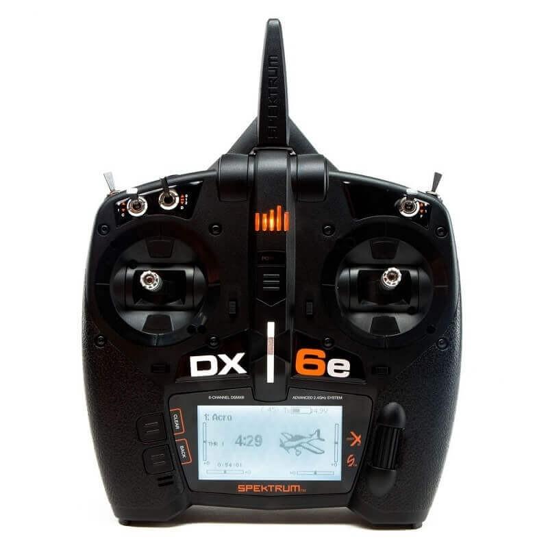 Spektrum DX6e 6 Channel DSMX Transmitter Only